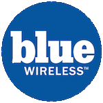 Blue Wireless Voicemail Logo